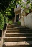 Escadaria residencial Imagens de Stock Royalty Free