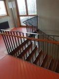 Escadaria & x28; School& alemão x29; imagens de stock royalty free