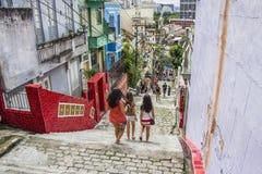 Escadaria Selarón - Rio de Janeiro Royaltyfri Foto
