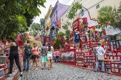 Escadaria Selarón - Rio de Janeiro Stock Photo