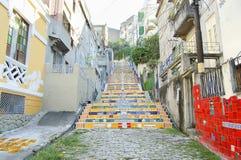 Escadaria Selaron - Рио-де-Жанейро - Бразилия стоковое фото rf