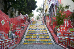 A escadaria Selaron Imagem de Stock