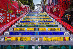 Escadaria Selaron, Rio de Janeiro, Brasilien Lizenzfreie Stockfotografie