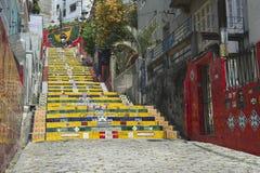 Escadaria Selaron Steps Rio de Janeiro Brazil Stock Photography