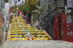 Escadaria Selaron Steps Rio de Janeiro Brazil Royalty Free Stock Images