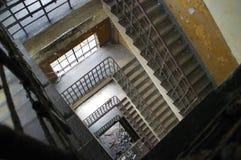 Escadaria velha Imagens de Stock Royalty Free