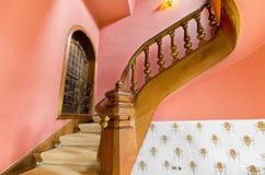 Escadaria velha. Imagens de Stock