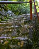 Escadaria velha Imagem de Stock Royalty Free