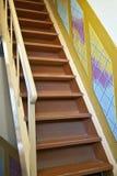 A escadaria velha Foto de Stock