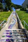 Escadarias à liberdade Fotografia de Stock