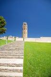 Escadas à catedral de Lleida Foto de Stock Royalty Free