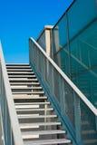 Escadas íngremes no céu Fotografia de Stock Royalty Free