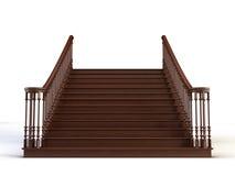 Escadas ilustração royalty free