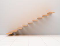 Escadas abstratas Fotografia de Stock