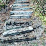 Escadas aleatórias fotografia de stock