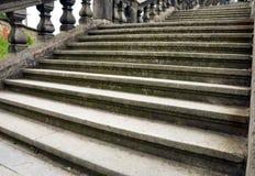 Escadas antigas Fotografia de Stock Royalty Free