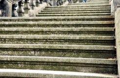 Escadas antigas Imagens de Stock