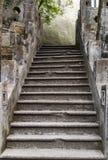 Escadas antigas Imagem de Stock Royalty Free