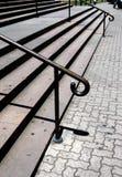 Escadas ao ar livre Imagens de Stock Royalty Free
