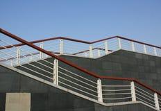 Escadas ao ar livre foto de stock royalty free