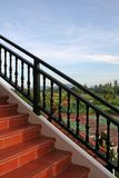 Escadas ao ar livre Fotografia de Stock Royalty Free
