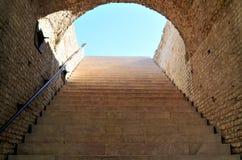 Escadas ao céu Fotos de Stock Royalty Free