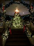 Escadas ao Natal Imagens de Stock Royalty Free