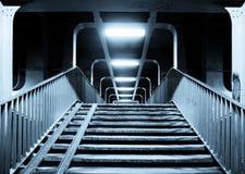 Escadas ao túnel fotos de stock royalty free