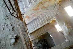 Escadas arruinadas Imagens de Stock