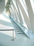 Escadas brancas imagens de stock