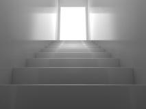 Escadas brilhantes ilustração do vetor