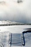 Escadas congeladas Imagem de Stock