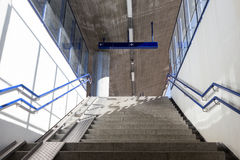 Escadas com rampas Fotografia de Stock Royalty Free