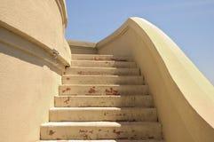 Escadas concretas imagens de stock