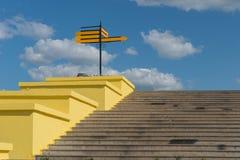 Escadas concretas com sentido Foto de Stock Royalty Free