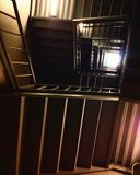 Escadas da biblioteca do UCSD Geisel Foto de Stock