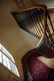 Escadas da casa de Montmartre fotos de stock