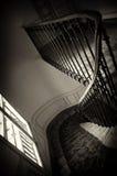 Escadas da casa de Paris Fotografia de Stock
