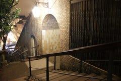 Escadas da cidade Fotografia de Stock Royalty Free