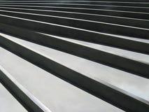 Escadas da espiral do dia ensolarado - detalhe Foto de Stock Royalty Free