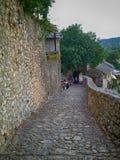 escadas da fortaleza Imagens de Stock
