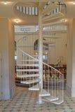 Escadas da igreja foto de stock