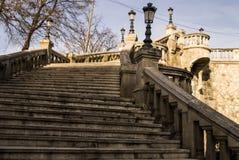 Escadas da pedra Fotografia de Stock Royalty Free