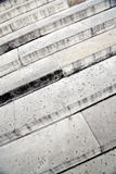 Escadas da pedra calcária imagem de stock
