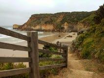 Escadas da praia Imagens de Stock Royalty Free
