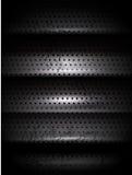 Escadas da textura do metal do vetor Fotos de Stock