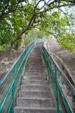 Escadas de aumentação Imagens de Stock Royalty Free