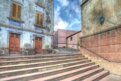 Escadas de Hdr Imagens de Stock