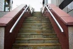 Escadas de mármore Fotografia de Stock Royalty Free