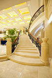 Escadas de mármore bonitas Fotos de Stock